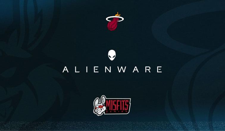 Misfits'ten Miami Heat ile Alienware Ortaklığı!