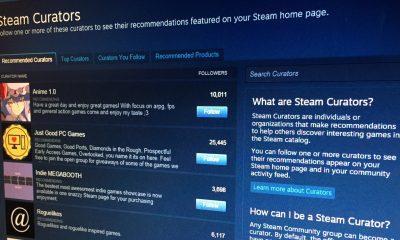 Artık Steam Küratörlerini Engelleyebileceksiniz