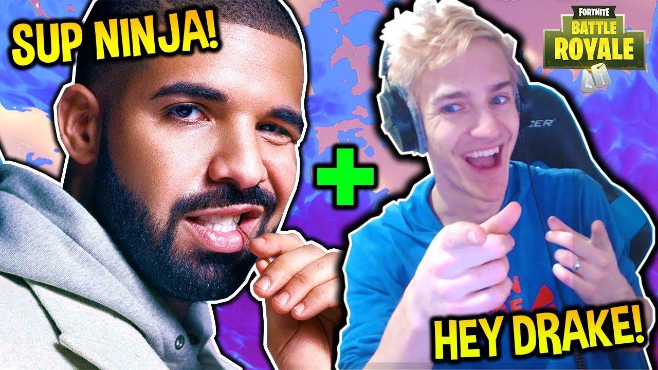 Drake ve Ninja Twitch'de izlenme rekorunu kırdı!