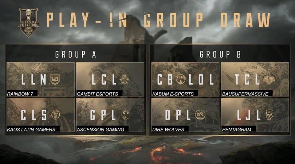 MSI 2018 Play-In grupları belli oldu!