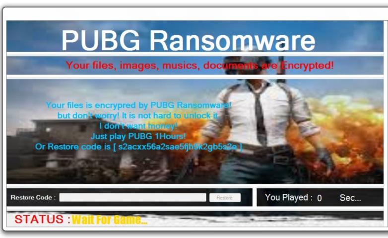 Zorla PUBG oynatan bilgisayar virüsü