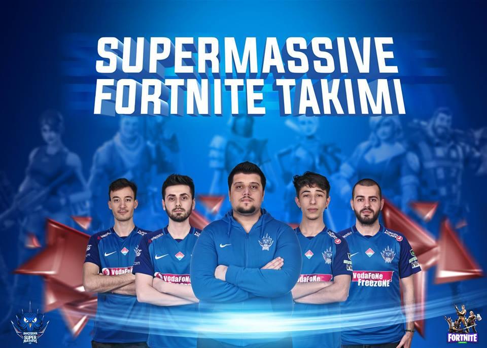 SuperMassive Esports'tan Fortnite atağı geldi!
