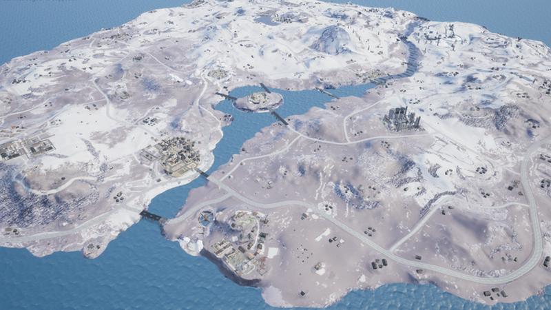 Vikendi, PUBG, kar haritası