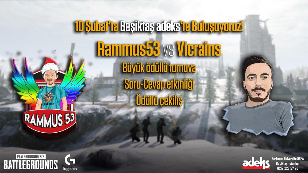PUBG Türkiye, rammus53, vicrains, turnuva, adeks