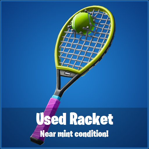 Fortnite skin, fortnite kostüm, volley girl, raket, racket, fortnite