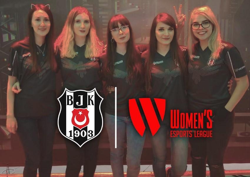 beşiktaş kadın lol, beşiktaş esports, wel, womens esports league