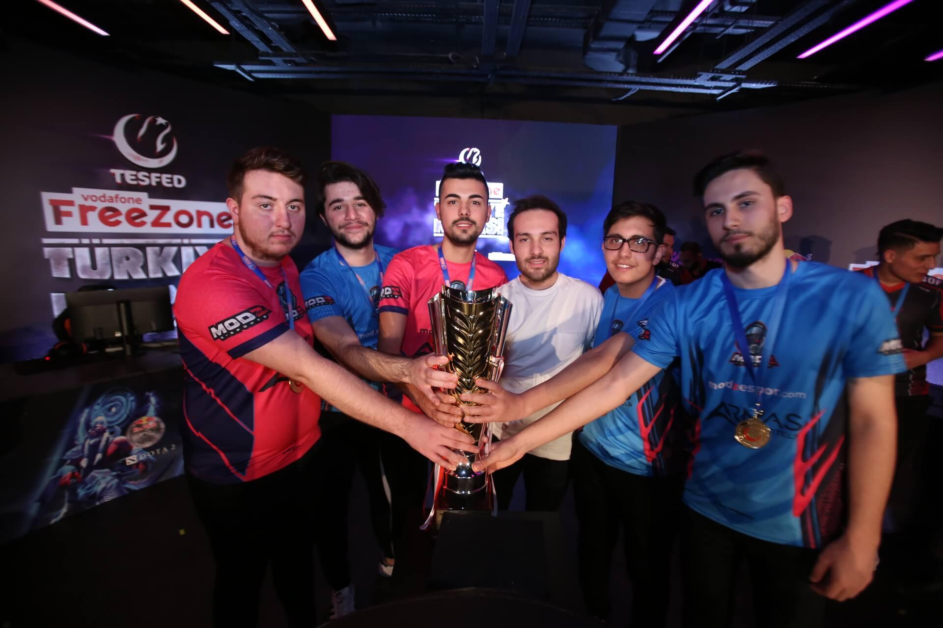 TESFED Türkiye Kupası'nda Zula Şampiyonu Mod-Z Espor Oldu