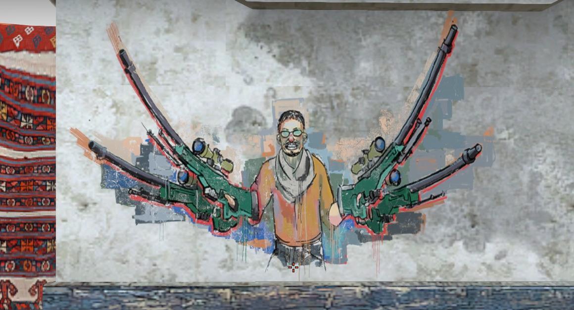 CS:GO'Daki efsane grafitiler ve hikayeleri!