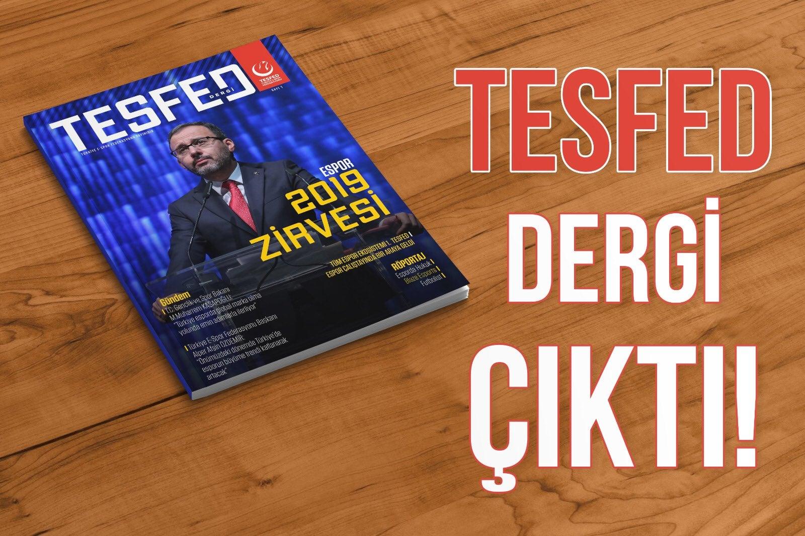 TESFED Dergi'nin İlk Sayısı Çıktı