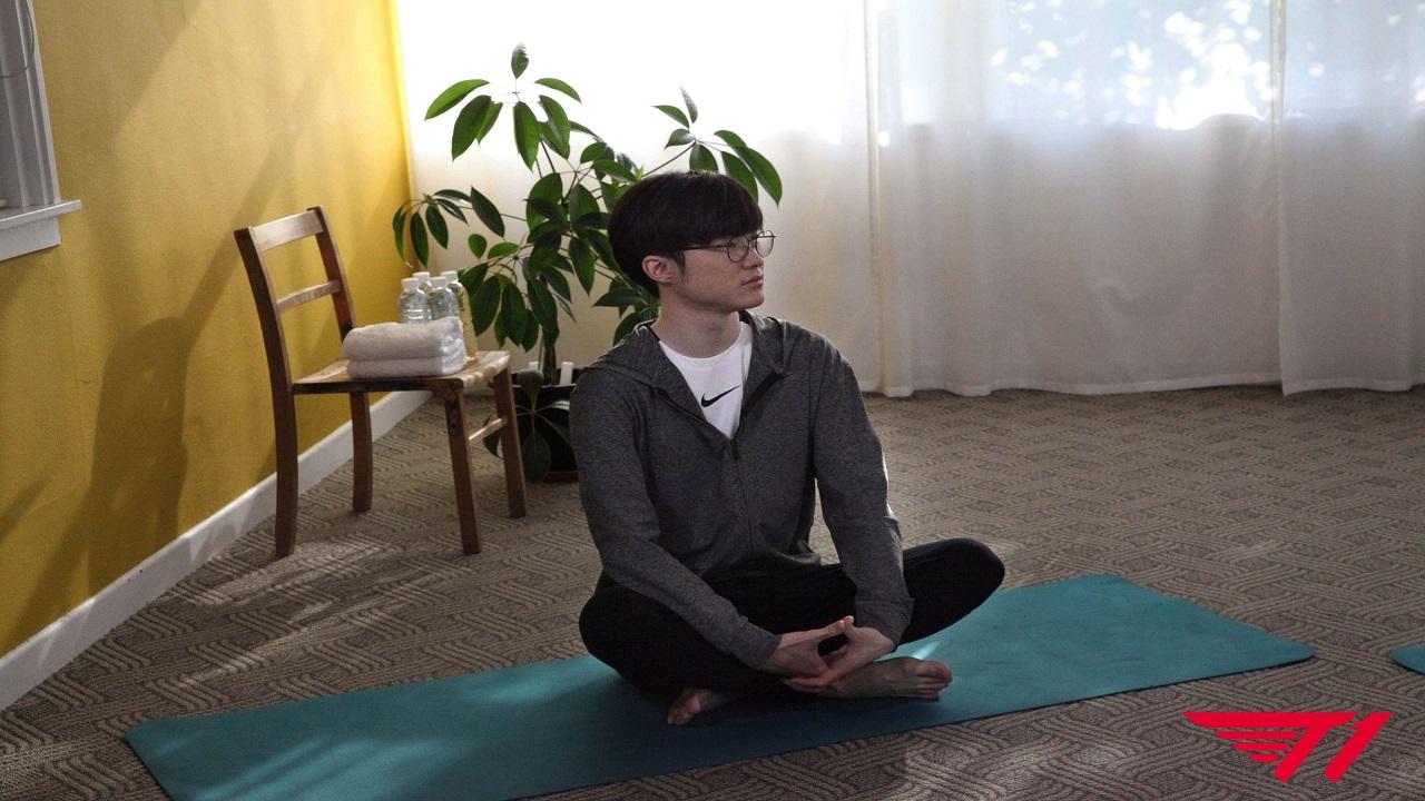 Faker, Nike ile yoga eğitimi programı işbirliğine gitti