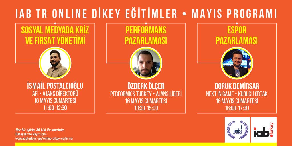 IAB Turkey'de bu hafta Espor Pazarlaması eğitimi yapılacak