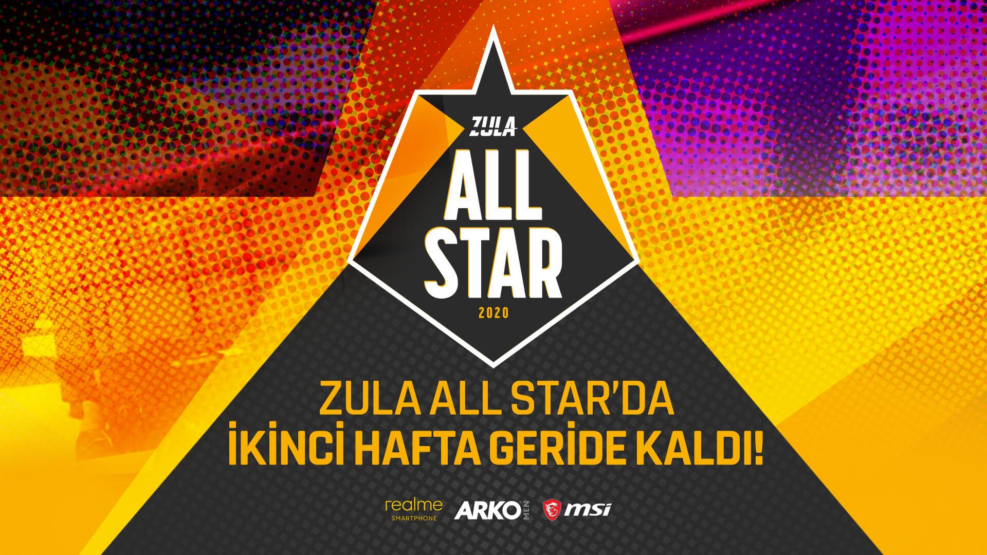 Zula All Star ikinci haftanın en değerli oyuncuları belli oldu