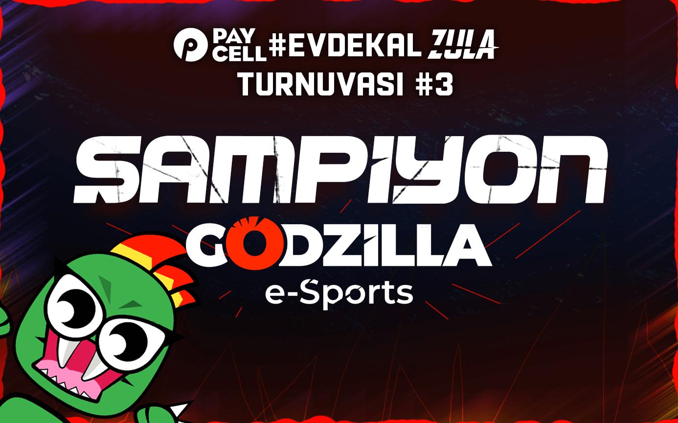 Godzilla e-Sports, Zula Paycell #EvdeKal'daki başarısını sürdürüyor