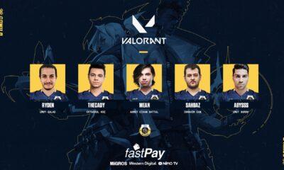 fastPay Wildcats VALORANT kadrosunu açıkladı! Kadroda tanıdık isimler!