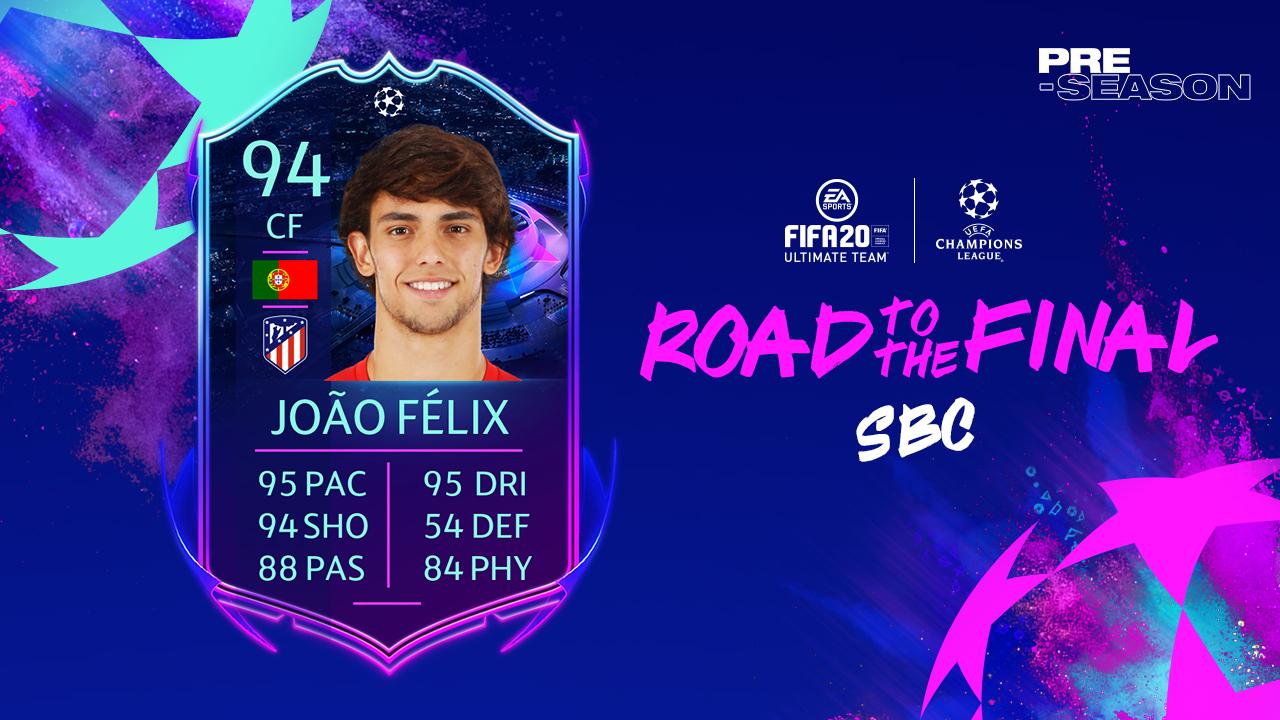 João Félix'in SBC görevi FIFA 20'ye eklendi
