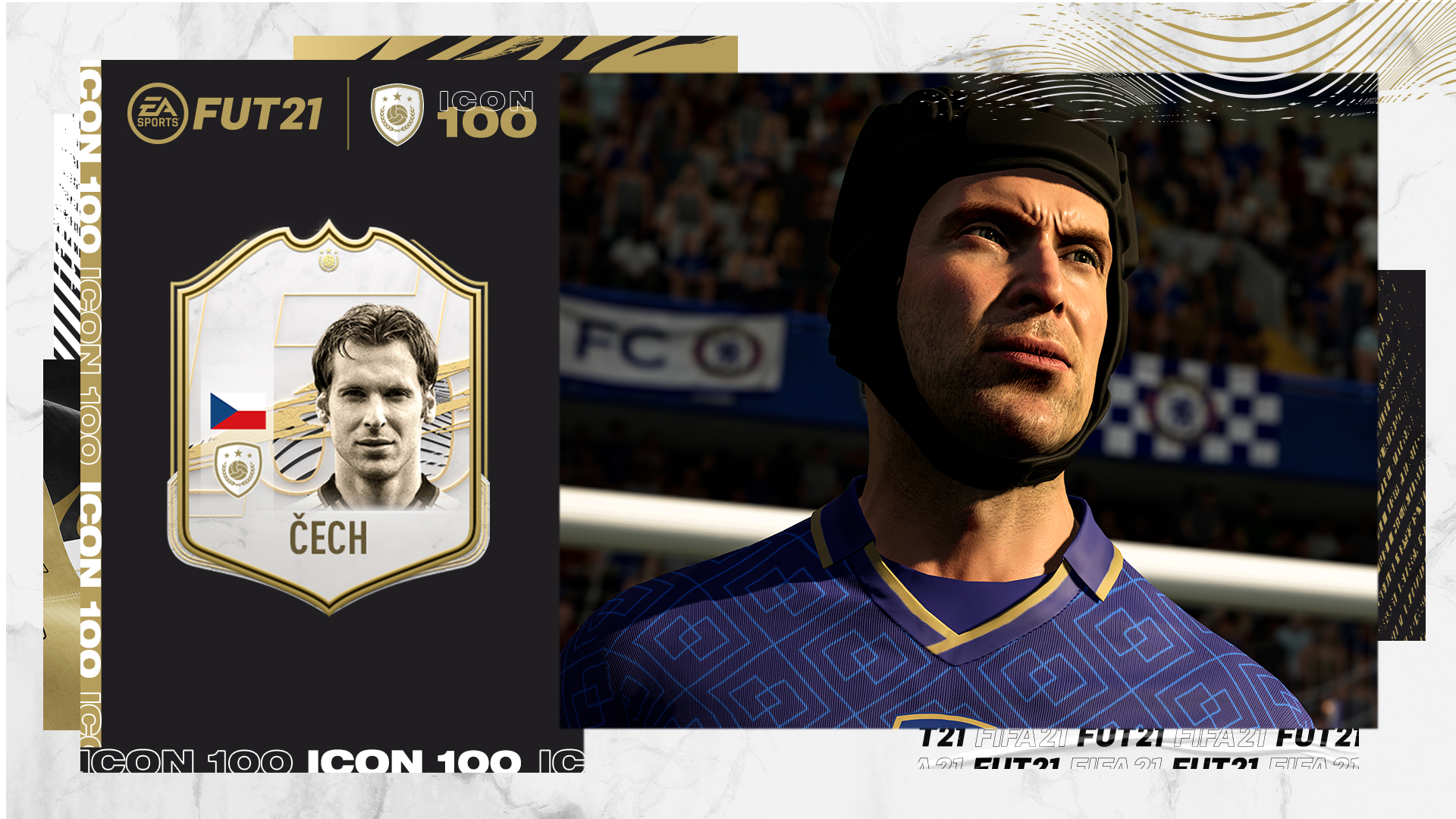 Petr Čech, FIFA 21'de ikon olarak oyunda yer alacak
