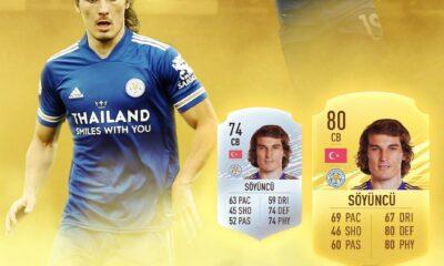 Çağlar Söyüncü'nün FIFA 21 kartı belli oldu! Hayal kırıklığı!