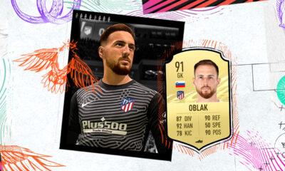 FIFA 21'in en iyi kalecileri belli oldu! Zirve Oblak'ın!