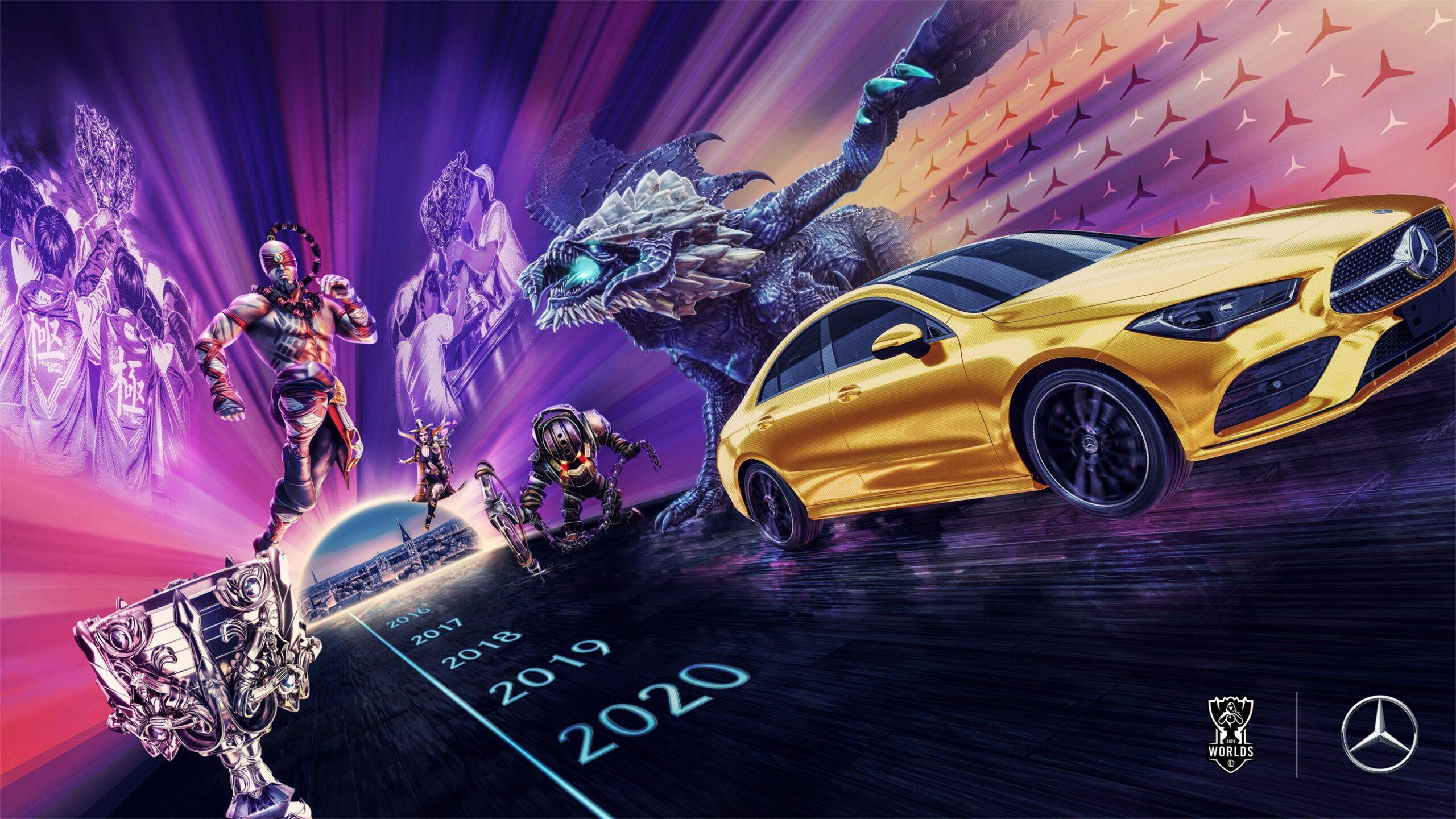 Riot Games, Mercedes-Benz ile sponsorluk anlaşması imzaladı