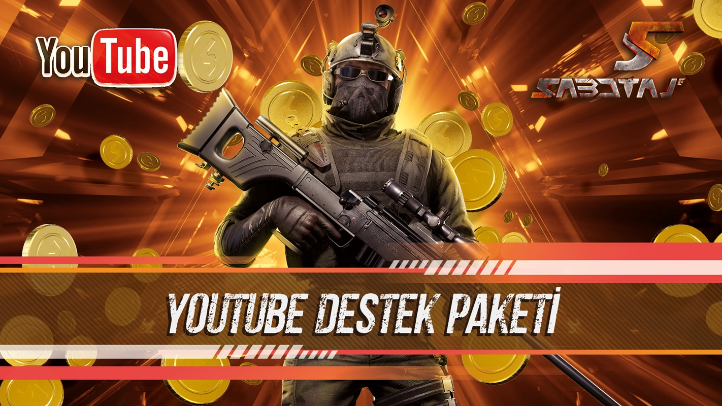 Sabotaj YouTube Destek Paketi