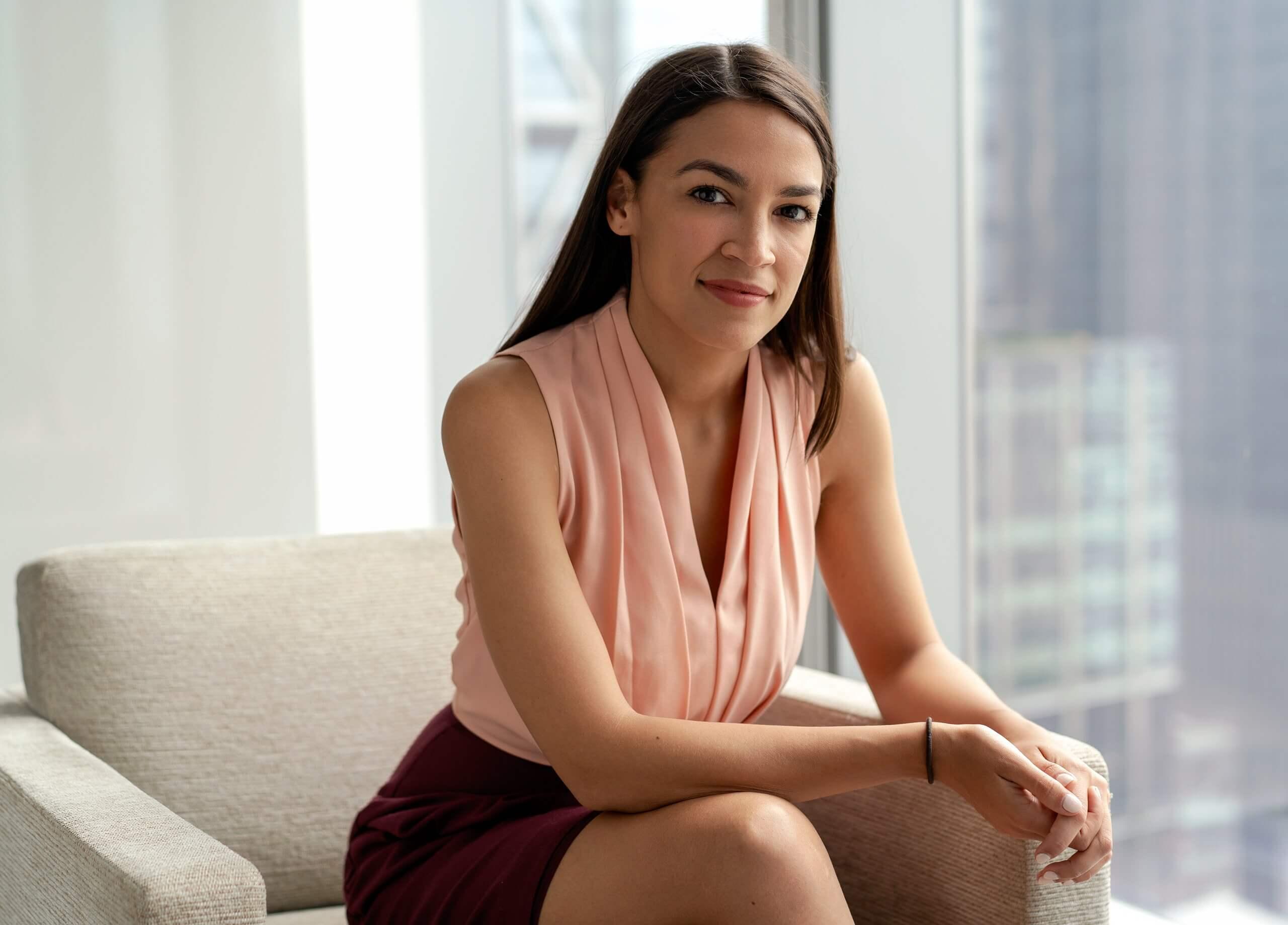 Amerikalı siyasetçi Alexandria Ocasio-Cortez 430 binden daha fazla kişi tarafından izlendi