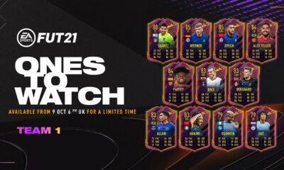FIFA 21'de Ones To Watch Takım 1 belli oldu