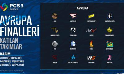 PCS 3 Europe finalistleri