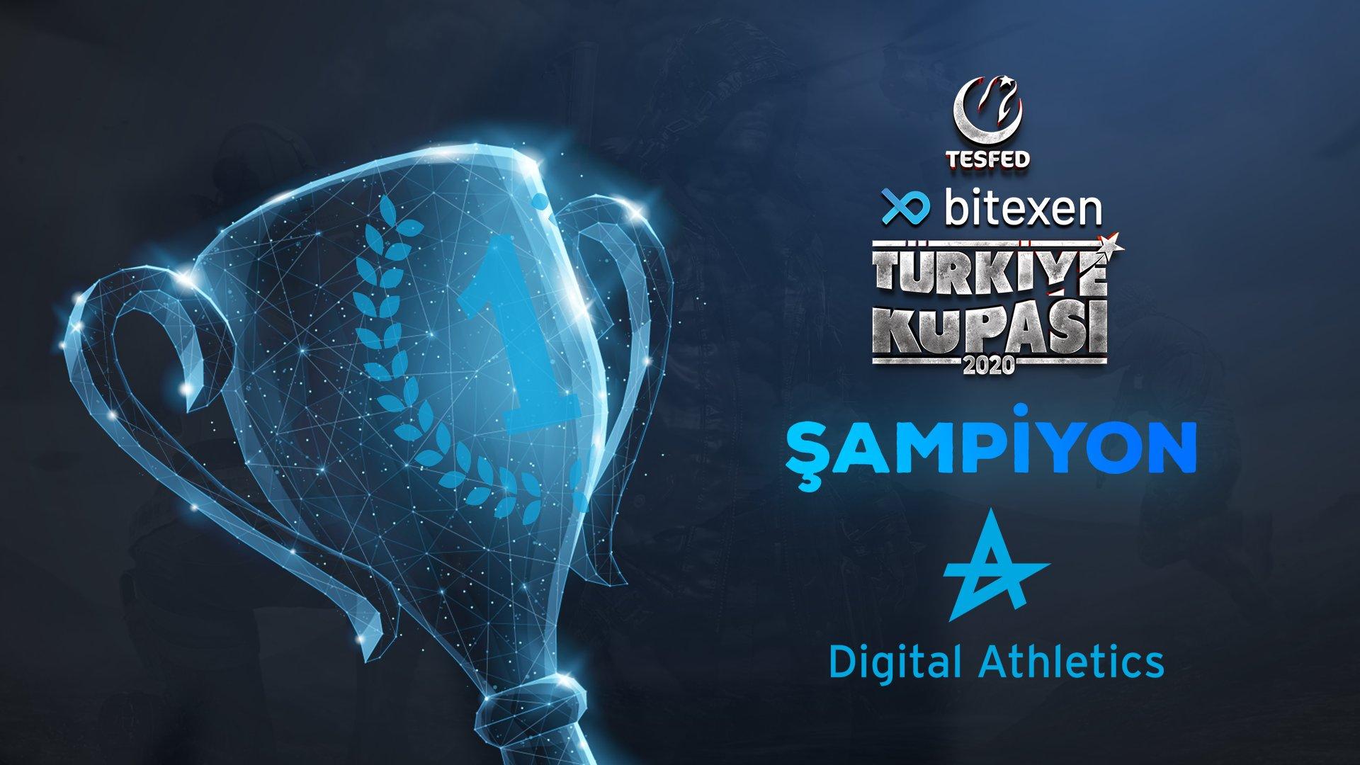 TESFED PUBG Türkiye Kupasında şampiyon Digital Athletics!