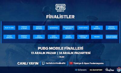 Bitexen TESFED Türkiye Kupası'nda PUBG Mobile