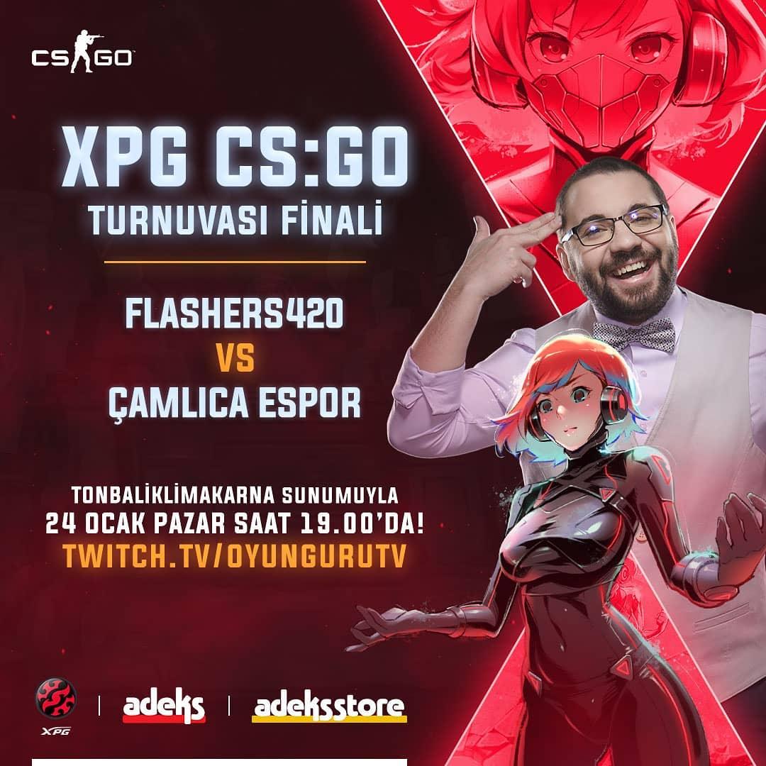 adekscafe XPG CS:GO Cup