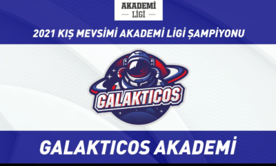 2021 Akademi Ligi Kış Mevsimi şampiyonu Galakticos Akademi!