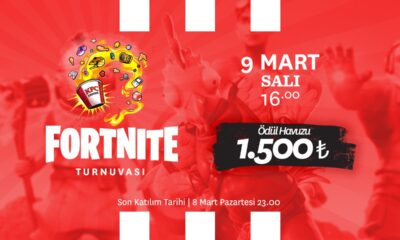 KFC Gaming TR Fortnite turnuvası