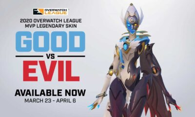 Overwatch League 2020 MVP kostümü