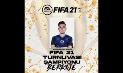 Şahangiller Espor FIFA 21 turnuvası tamamlandı