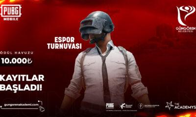 81 ilden PUBG Mobile oyuncusu Güngören Belediyesi Espor Turnuvası için buluşacak