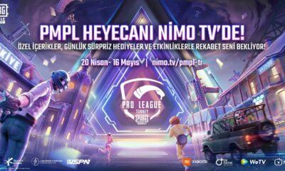 PUBG Mobile Pro League özel hediyeler ile Nimo TV'de yayınlanacak