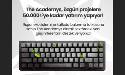 The Academys özgün espor projelerine 50 bin TL yatırım yapacak