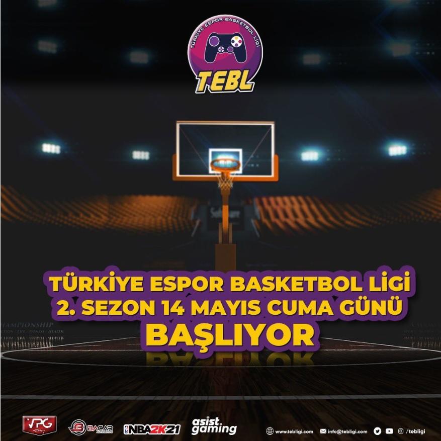 Türkiye Espor Basketbol Ligi ''2. Sezonu'' ile geri dönüyor!