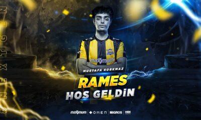 1907 Fenerbahçe Espor, orman oyuncusu Rames'i transfer etti!