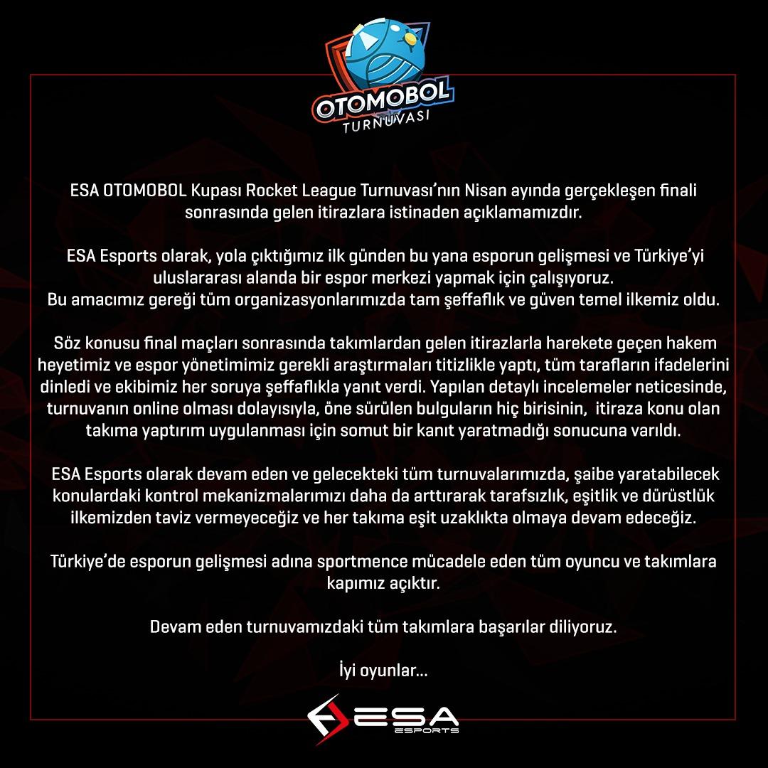 ESA Esports Otomobol