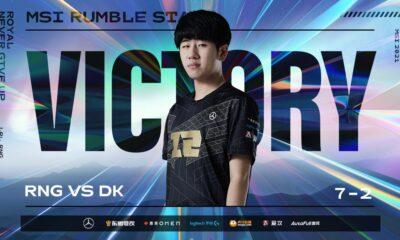 MSI Kapışma aşaması son gününde RNG Damwon KIA'yı mağlup ederek zirveye ortak oldu!