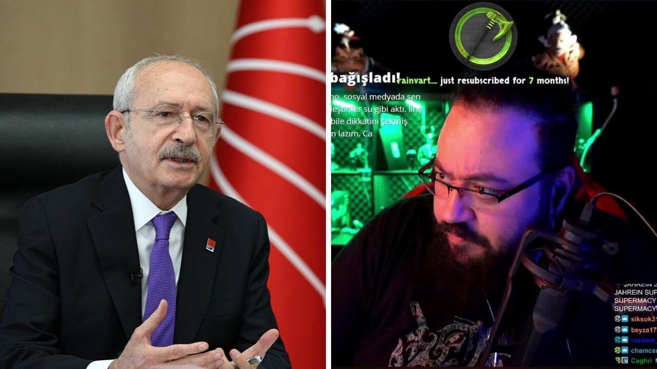Jahrein, Kemal Kılıçdaroğlu ile bir canlı yayın gerçekleştirecek