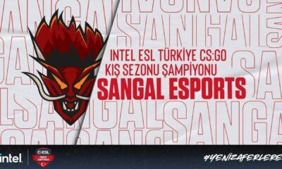 Sangal Esports INTEL ESL Türkiye CS:GO Kış Sezonu Şampiyonu oldu!