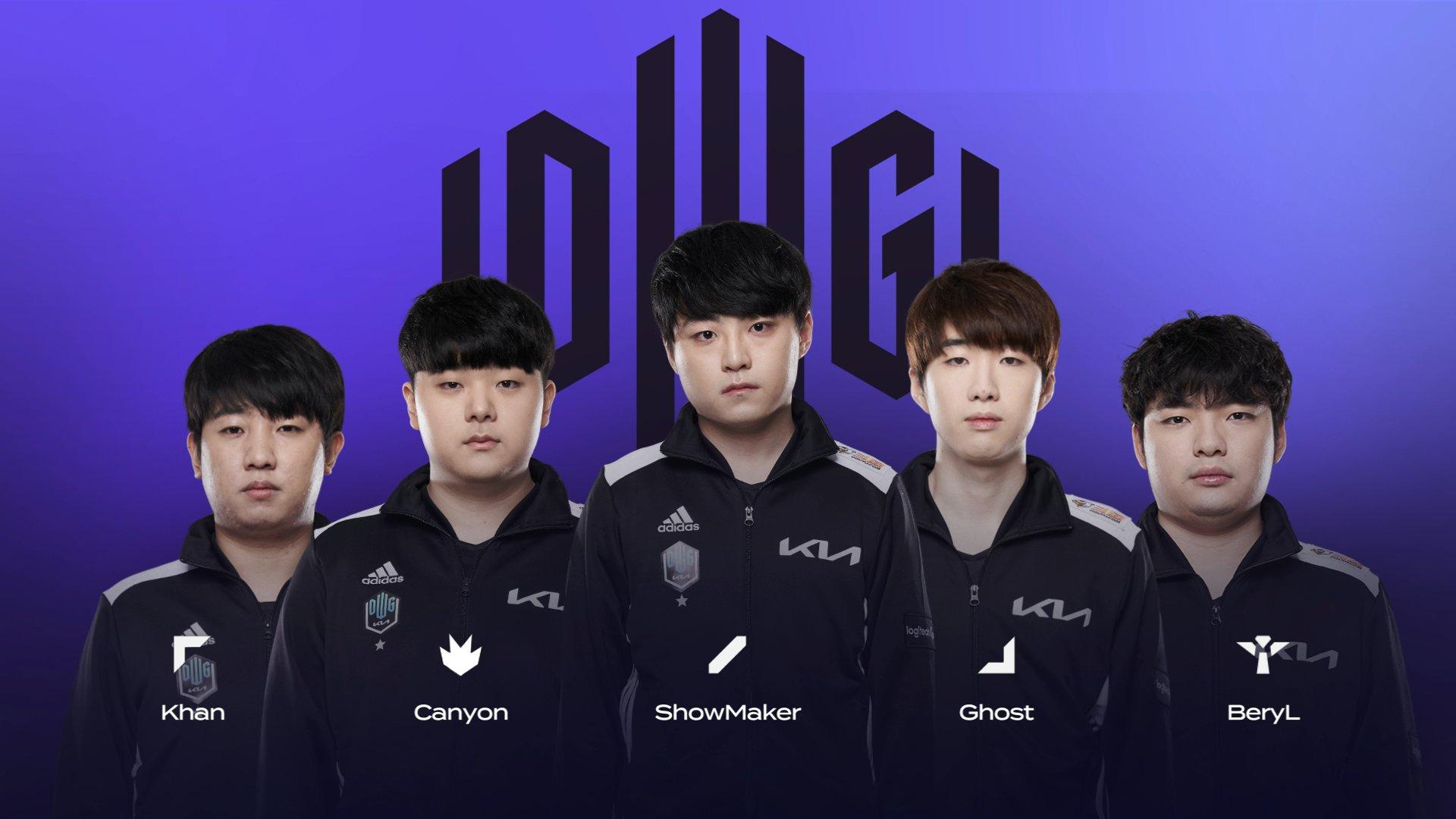 Damwon Gaming KIA LCK