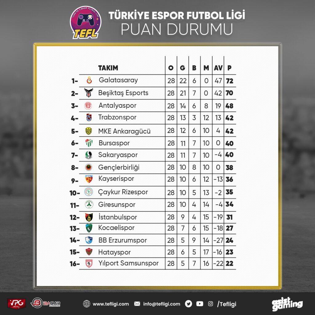 Türkiye Espor Futbol Ligi