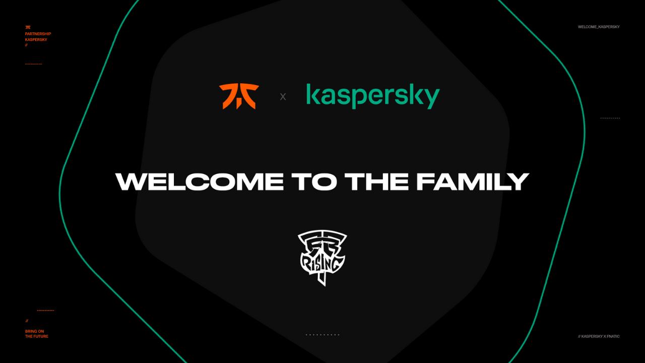 Fnatic, Kaspersky ile küresel ortaklığını duyurdu!