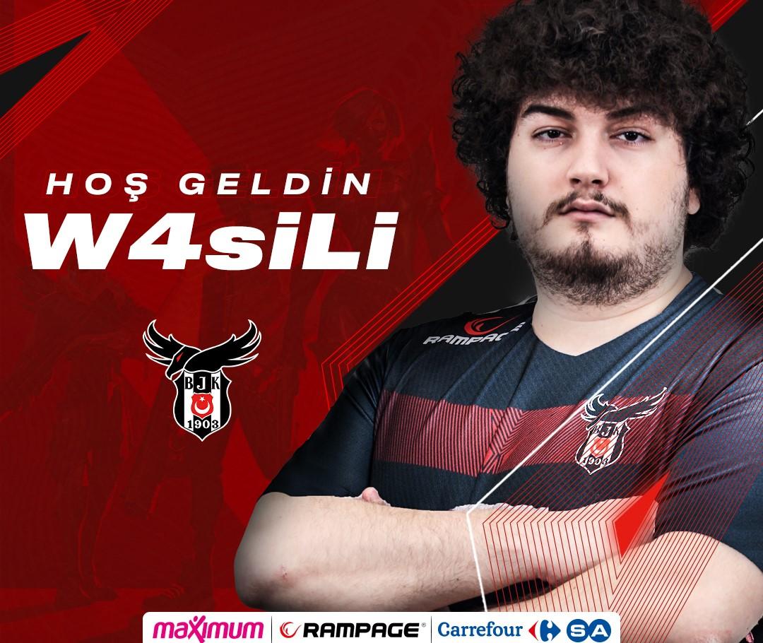 W4siLi Beşiktaş Esports VALORANT