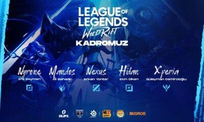 Dark Passage League of Legends: Wild Rift takımını duyurdu