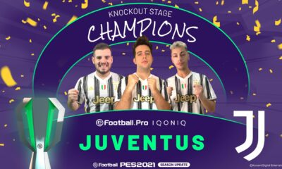 eFootball.Pro IQONIQ, 2021/21 sezonu şampiyonu Juventus!