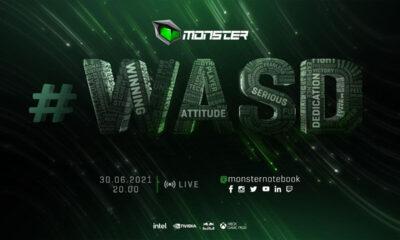 Monster #WASD etkinliği 30 Haziran Çarşamba günü oyuncular ile buluşacak